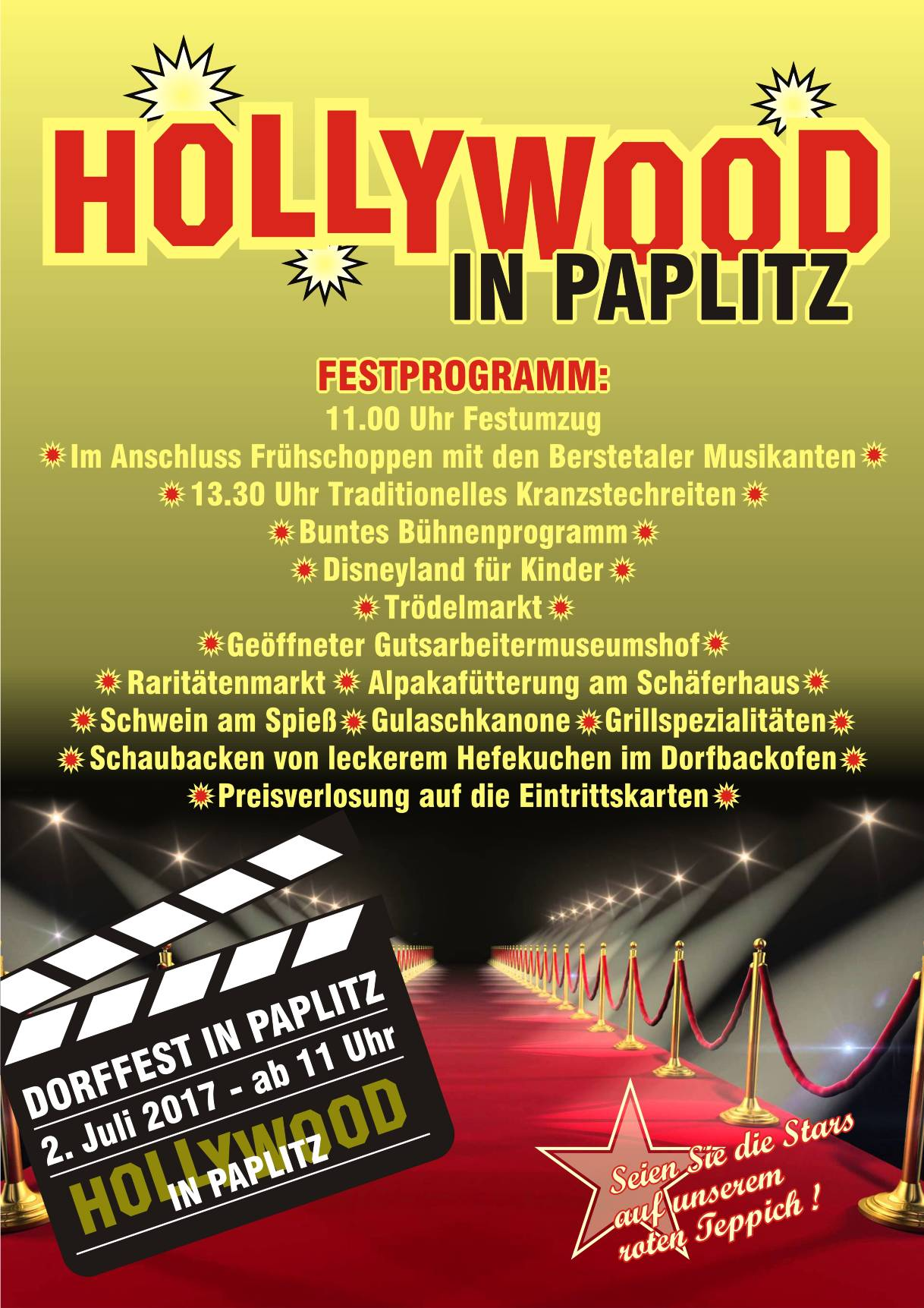 Hollywood in Paplitz